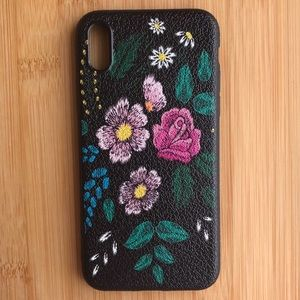 Accessories - NEW Iphone X Floral Flowers Case